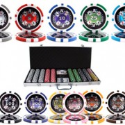500pc 14g Casino Ace Poker Set