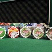 "500pc Las Vegas ""Dual Side"" Poker Chip Set"