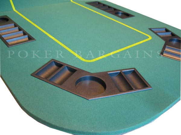 Texas Holdu0027em Poker Table Top